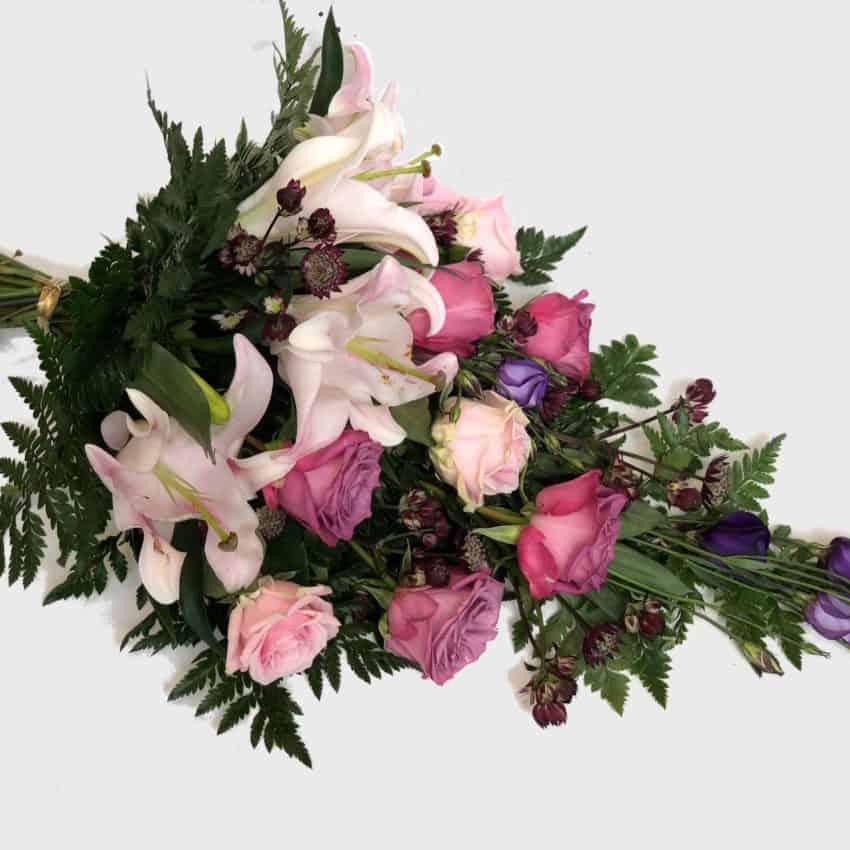 Send bårebuket til begravelse leveres til hele Danmark