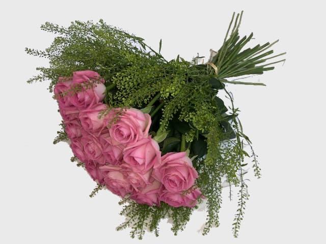 blomster til døren