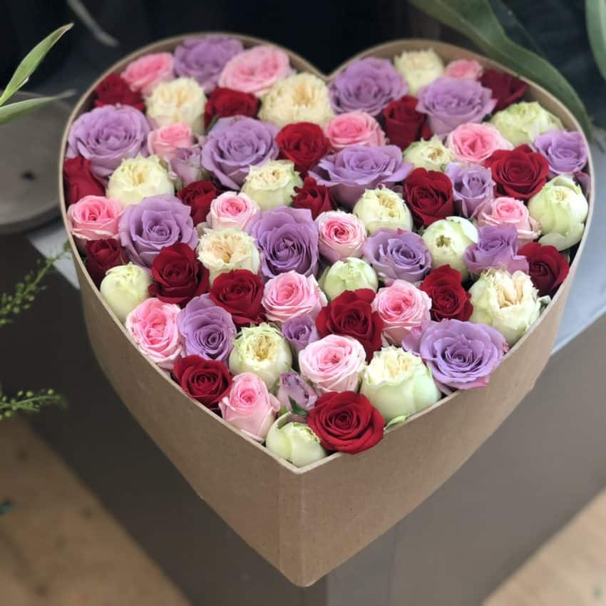 Levering af blomster hele Danmark