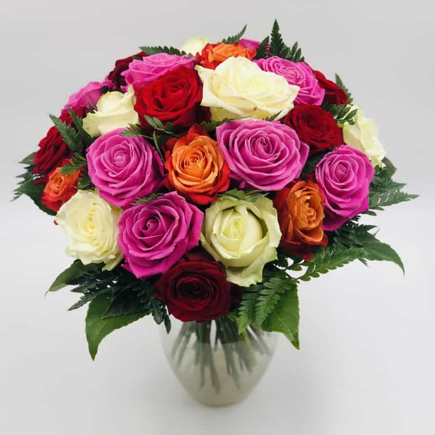 Send blomster online til hele Danmark